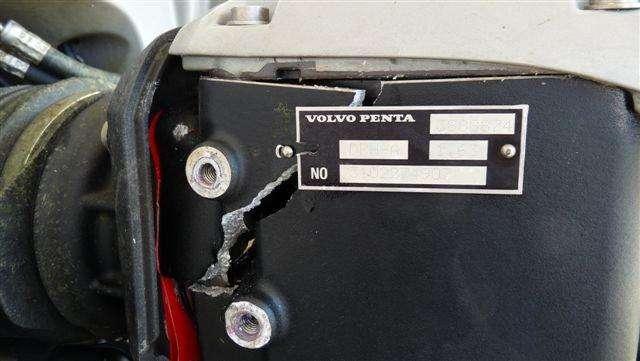 Volvo Penta - Volvo D6 Series - Weak DPH drive units